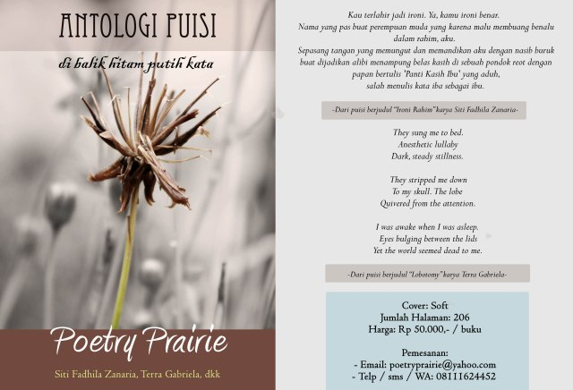 Antologi Puisi Poetry Prairie (Order Now)