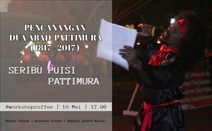 Undangan Menulis Antologi Puisi Pattimura (DL: 15 Mei 2017)