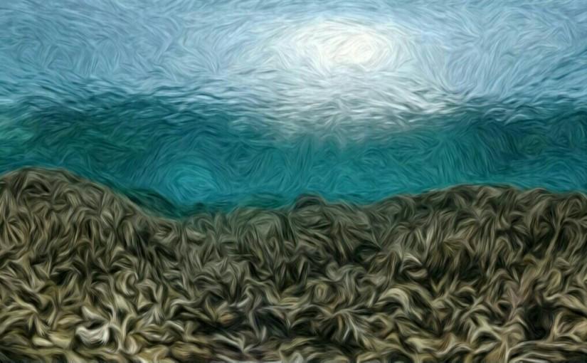 Ombak Pantai Lombang