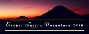 Penerbitan Buku Antologi Puisi ERUPSI SASTRA NUSANTARA 2019